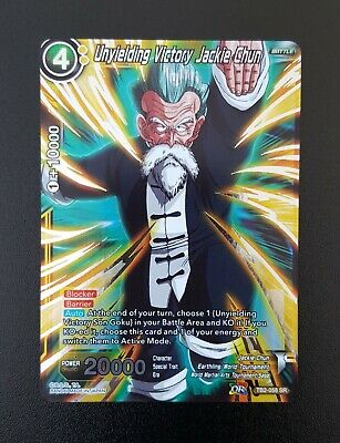 Dragon Ball Super Card Game Victoire Inflexible TB2-058 SR//VF Jackie Chun