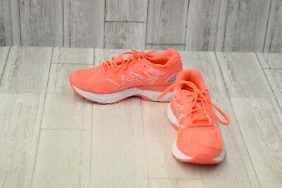 Asics Gel-Nimbus 19 GS Athletic Shoes - Big Girls Size 5.5 - Flash Coral