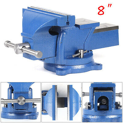 """5/"""" Heavy Duty Work Bench Vice Engineer Jaw Swivel Base Workshop Vise Clamp New"""