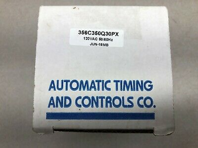 New In Box Atc Series 356 Timing Electromechanical Predetermined  Counter 120 Va