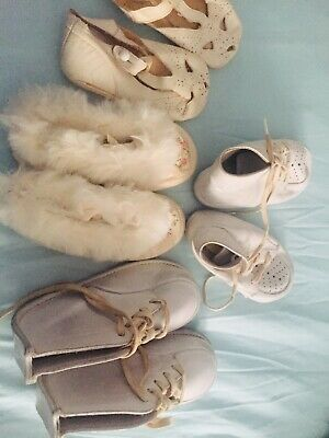 1956 - 1957 Baby Shoes