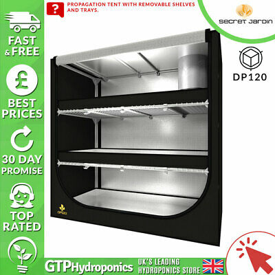 Secret Jardin Accessories - DP120 - Dark Propagator Tent - Hydroponics