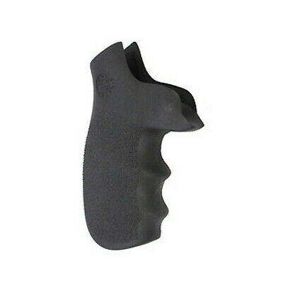 Hogue Grip Rubber for Taurus Tracker / Judge with Finger Grooves Black 73000