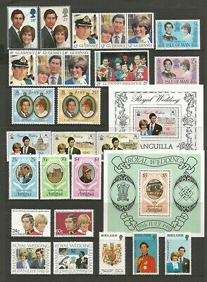 British Commonwealth 1981 Fine Mint Omnibus Collection Mini Sheets And Booklets