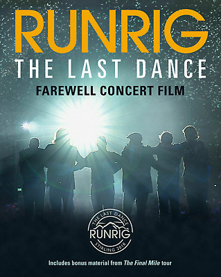 RUNRIG THE LAST DANCE FAREWELL CONCERT (Live Stirling) 2DVD Deluxe Edition