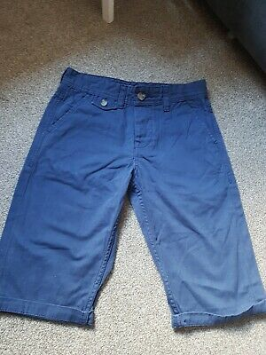 Boys Blue Kangol Shorts Aged 7-8 Years