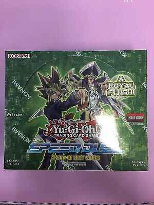 Yugioh Speed Duel: Arena Of Lost Souls Factory Sealed 1st Edition Booster Box