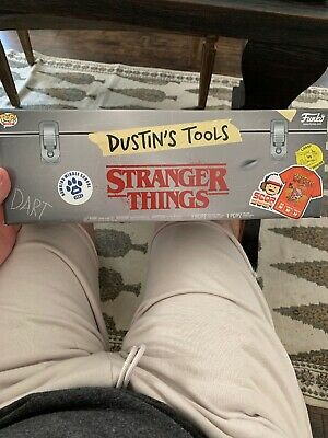 Funko Pop Stranger Things 3 DUSTIN'S TOOLS Box Target Exclusive EMPTY BOX ONLY