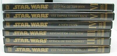 Star Wars The Complete Saga Episodes 1 - 6, I - VI (9-Disc DVD Set)