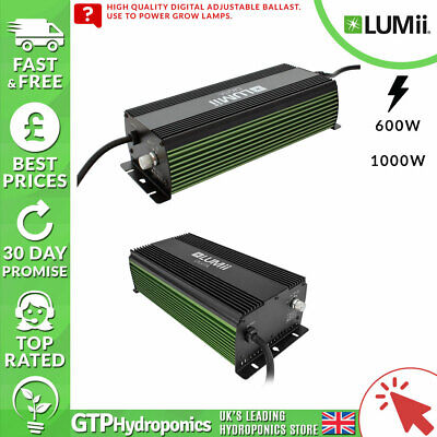 Lumii Digita Ballast 600w / 1000w - Adjustable Grow Light Ballast Digital
