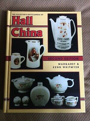 HALL CHINA Collector's Encyclopedia 2nd Edition Whitmyer 1994 Excellent