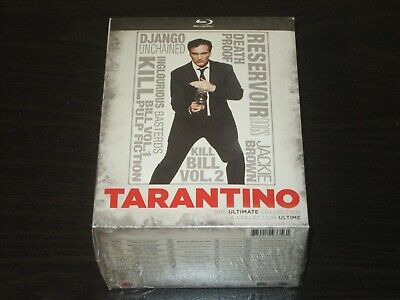 Quentin Tarantino:The Ultimate Collection Blu-ray 8 Films Movies Box Set