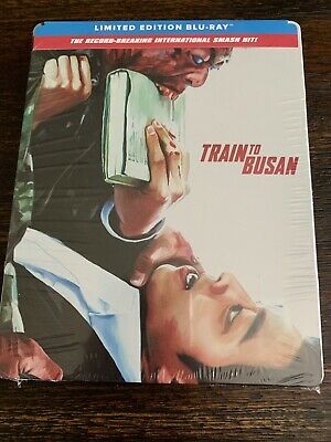 Train to Busan SteelBook (Blu-Ray Limited Edition) FACTORY SEALED!