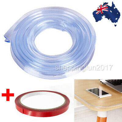 Soft Table Edge Strip Silicone Corner Cushion Protectors Guard Protect Babies OZ