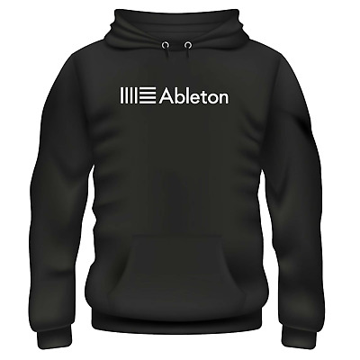 ABLETON MUSIC PRODUCER STUDIO SYNTHESISER MAKING HOODIE **Colours Available**