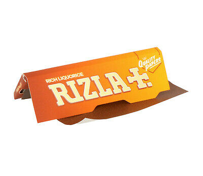 20 Booklets Rizla Liquorice Cigarette Smoking Rolling Papers - 100% Genuine