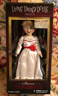 """Mezco Living Dead Dolls The Conjuring """"Annabelle"""" 10in Collectors Doll *NEW*"""