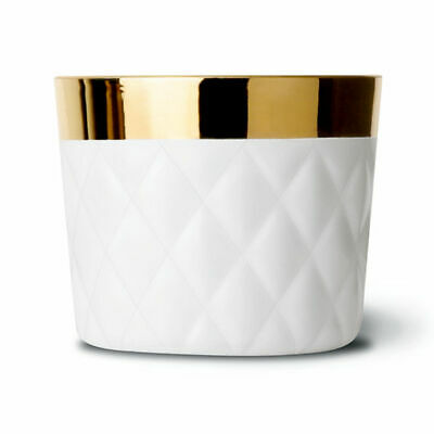 "Sieger by Fürstenberg ""Sip of Gold"" Becher, Cushion white"