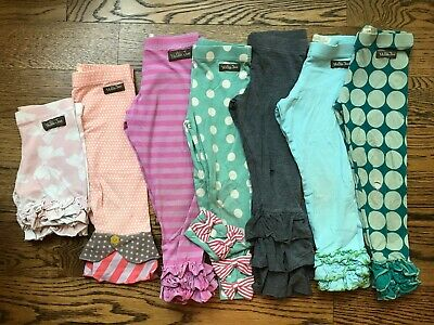MATILDA JANE Girls Size 4 *Blemished* Bennys Ruffle Leggings Shorties