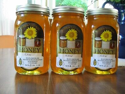 1 OR 2 gallons raw HONEY - BUY IN BULK AND SAVE- Snowberry