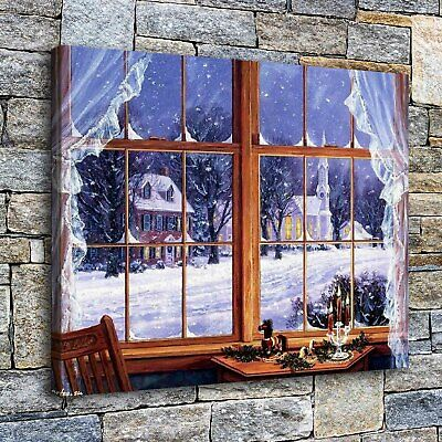 """Christmas tree HD Canvas Print Painting Home Decor Room Wall Art Picture 16""""x22"""""""