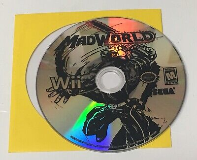 Mad World Nintendo Wii *Disc Only!* No Case or Manual Madworld