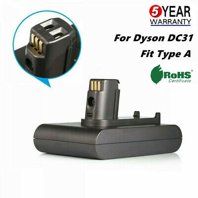 For Dyson DC31 DC34 DC35 Animal 2.2Ah Li-ion Handheld Vacuum Cleaner Battery NEW