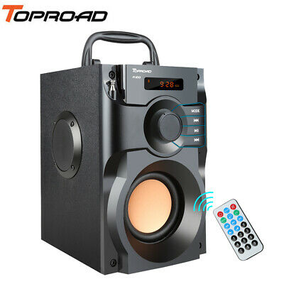 Wireless Bluetooth Speaker Party Portable With Subwoofer Big Loud Super Bass