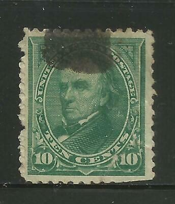 KStamps Lot B554 Scott # 258 10c Webster Used  CV$22.50  No Reserve