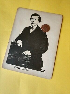 Western antique VTG Reproduction PHOTO Billy the Kid