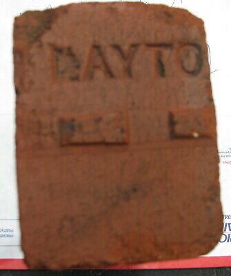 Antique Brick Vintage reclaimed Red LAYTON fire brick 1 sided 1880 - 1915 (1)