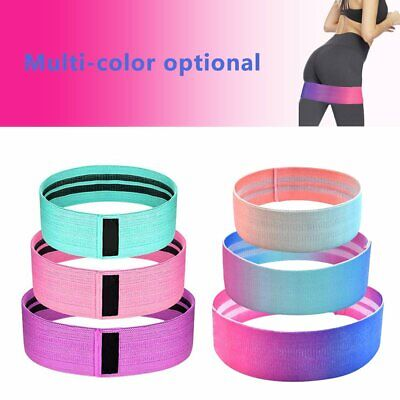 Resistance Bands Hip Circle Band Loop Glute Leg Squat Gym Exercise Fitness #T