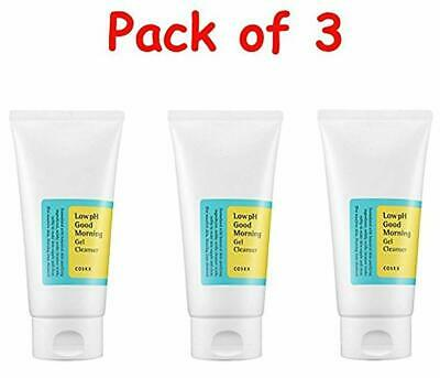 COSRX Low Ph Good Morning Gel Cleanser 150ml ( Pack of 3 ) + FREE GIFT