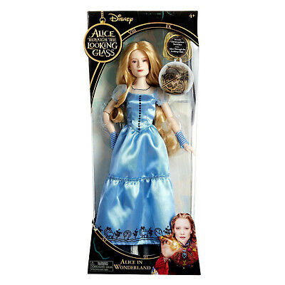 """Alice Through The Looking Glass-Alice In Wonderland  Disney 12"""" Doll"""