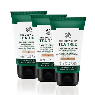 THE BODY SHOP Tea Tree Flawless BB Cream  Perfection for Blemish Skin 01 LIGHT