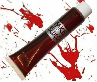 Lot Fake Blood Tube Halloween Make Up Face Paint Gore Fancy Dress Costume Party