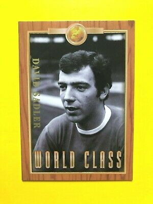 Futera Manchester United 1998 - WC7 - David Sadler - Promotional Card (Numbered)