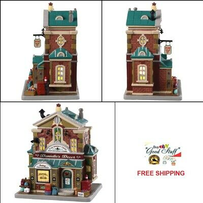 NEW 2019 Lemax Village Lighted Building Danielle's Décor Tabletop Christmas Gift