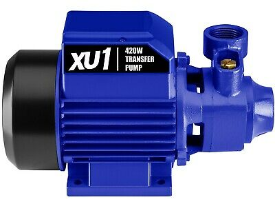 XU1 CLEAN WATER TRANSFER PUMP XTRP-420 420W Induction Motor, 1900L/Hour Max