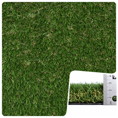 HIGH QUALITY EXTRA SOFT 30mm Artificial Fake Grass 4m Wide Remnant/Roll End