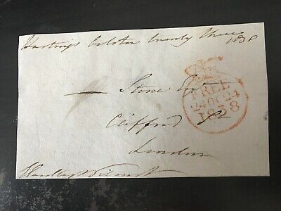 John Eardley Wilmott - M.p. & Governor Of Tasmania - Signed Envelope Front