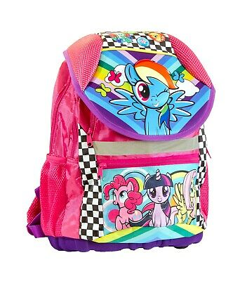 Official Licensed My Little Pony Large Travel Backpack 44cm Girls Luggage