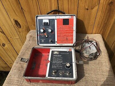 Fisher M-Scope TW-5 Pipe/Cable Locator Transmitter Receiver Vintage Underground