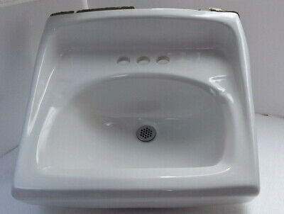 Snow White American Standard Ceramic Wall Mount Sink Bathroom Porcelain Fixture