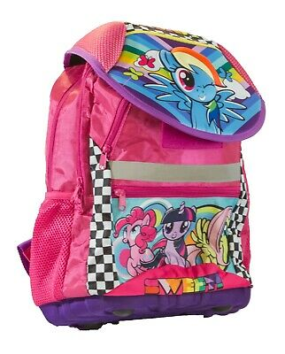 Official Licensed My Little Pony Large Travel Backpack 44cm Girls Luggage Sweet