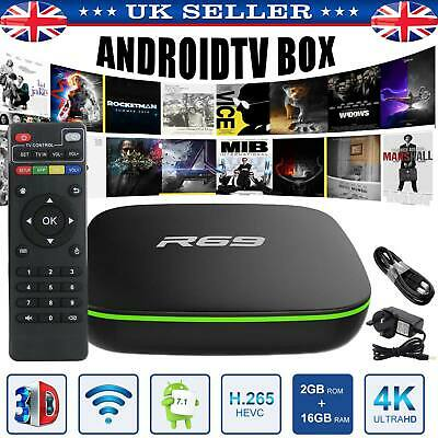 K*D* TV BOX 4K H96 pro plus 96 GB 3GB Superceleron Android TV