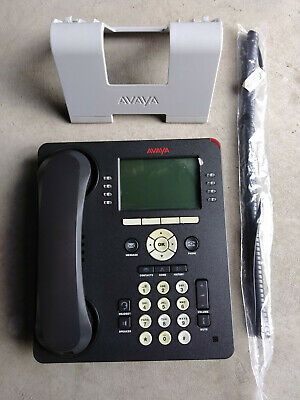 Avaya 9608 VoIP Black Business Telephone 700501428 9608D01A-1009 TAA VERSION