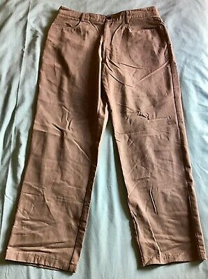 """Florence & Fred F&F Mens Grey Casual Dress Pants Jean Trousers - Size W34"""" L29"""""""