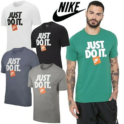 NIKE SPORTS GYM T-SHIRT TEE T-SHIRT JUST DO IT MENS S-M-L-XL rrp £20