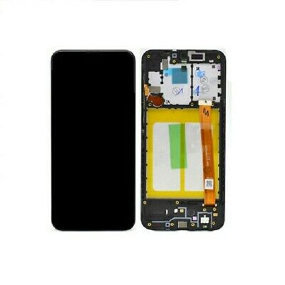 DISPLAY ORIGINALE LCD TOUCH FRAME SAMSUNG GALAXY A20e A202 NERO GH82-20229A